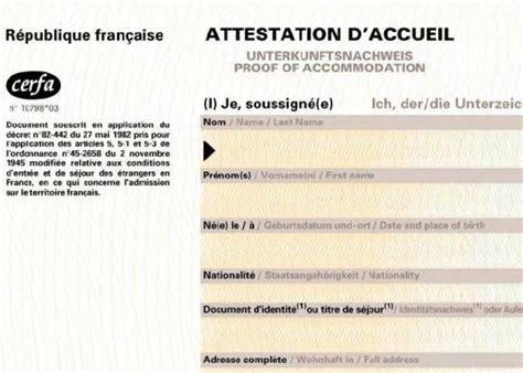 Lettre De Demande De Visa Pour Visite Familiale Attestation D Accueil Issy