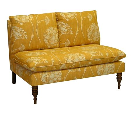 Yellow Settee Bench Dining Kitchen Settee Bench For Dining Banquette With