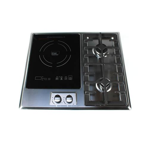induction cooktop glass replacement true induction 25 in induction gas combo cooktop