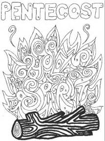pentecost color free coloring pages of pentecost sunday