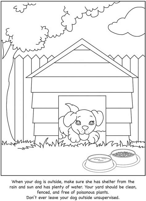 coloring pages of guide dogs guide coloring page coloring pages