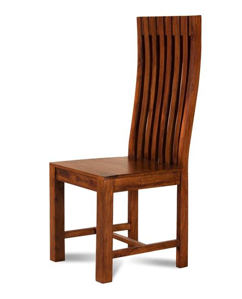 Sheesham Dining Chairs Modern Solid Wood Dining Chair Casa Furniture Uk