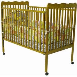 Pecan Crib by On Me Crib Pecan 619p Coupons And