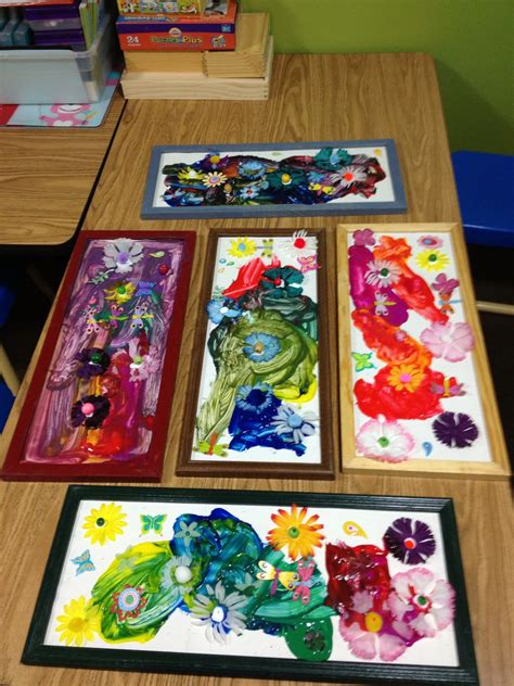 spring themed work events preschool spring art work idea pinned by child care aware