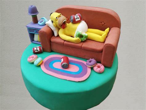 homer divano torta homer cuginette sul g 226 teau
