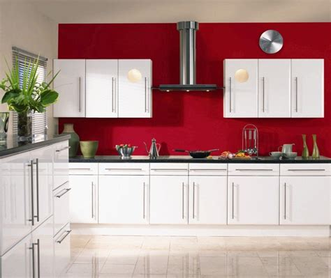 stunning white gloss kitchen cabinets ideas excellent kitchen design excellent kitchen room design exciting red wall paint color