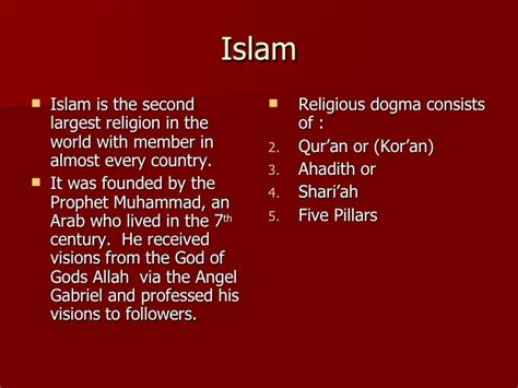 brief introduction of quran brief introduction to islam