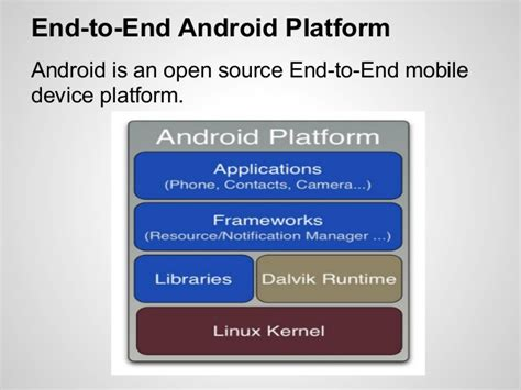android platform android platform architecture