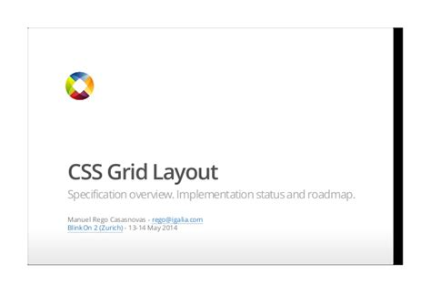 html layout specification css grid layout specification overview implementation