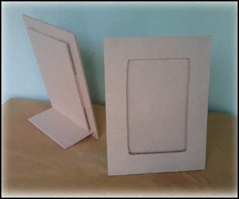 como hacer portaretratos de carton portaretratos fibrof 225 cil imagui portaretratos