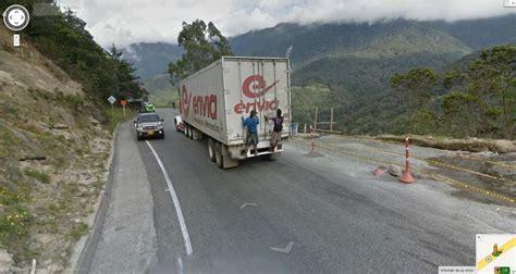 imagenes insolitas google street view cosas bizarras en el google street view colombia