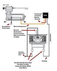 wiring diagram  firestone level command ii  board