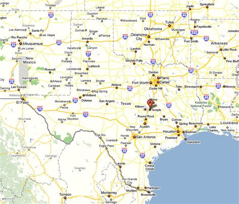 map temple texas the irisarian location