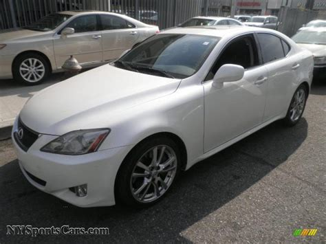 white lexus is 350 2008 lexus is 350 in starfire white pearl 017903
