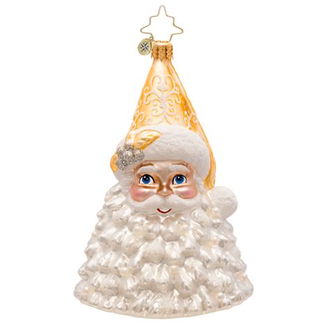 frosty kris kringle ornament by christopher radko