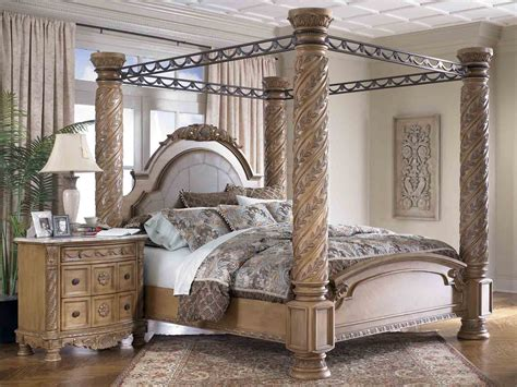 king poster bedroom set furniture gt bedroom furniture gt canopy bed gt canopy bed
