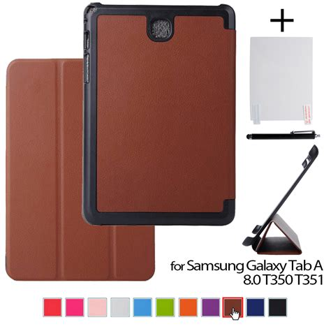 Samsung Tab A8 for samsung tab as a8 leather protective cover funda for samsung galaxy tab a 8 0 t350