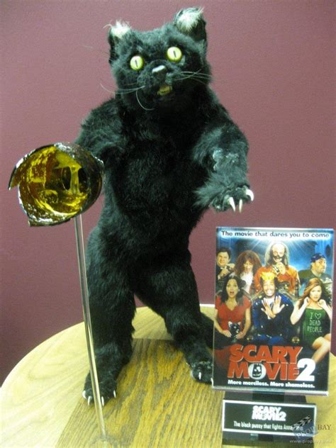 how to a not to attack cats attack cat prop from scary 2 2001 memorabilia archive and