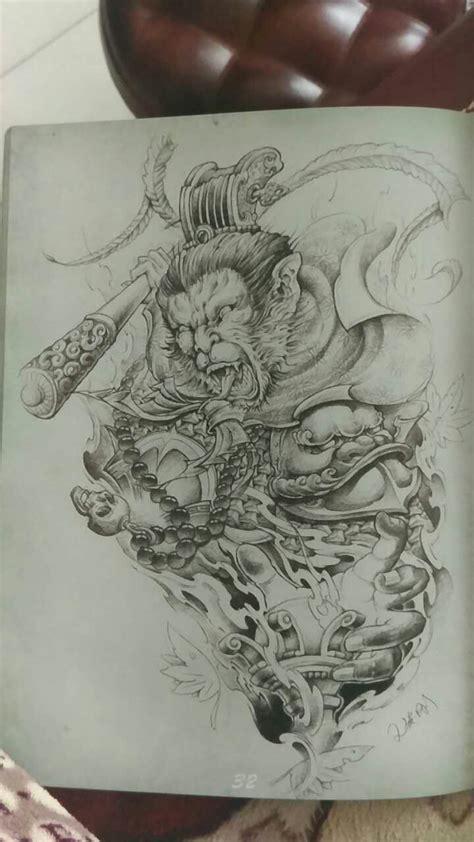 monkey king tattoo monkey king monkey king monkey king