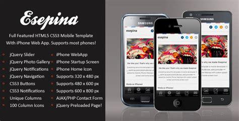 html5 mobile templates free new premium mobile website templates designmodo
