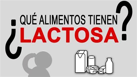 alimentos  lactosa  alimentos tienen lactosa   es la lactosa vid  de  youtube