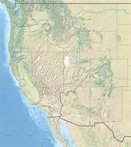 where is west on a map file usa region west landcover location map jpg