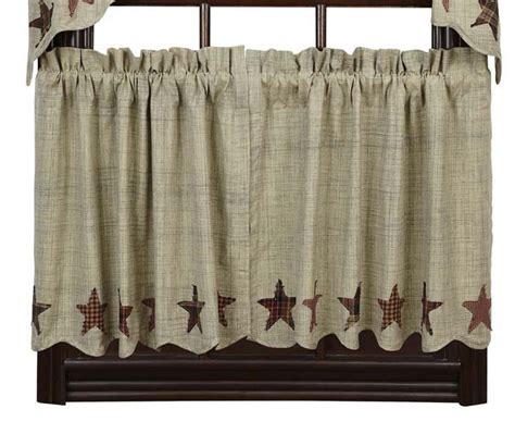24 cafe curtains abilene cafe curtains 24 inch tiers by nancy s nook the