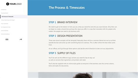 design a proposal brand design proposal template better proposals