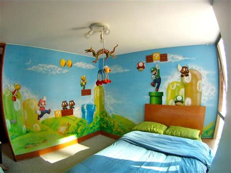 mario themed bedroom amazing super mario bros bedroom pic global geek news