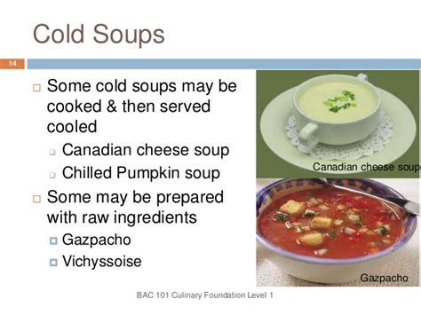 cold soup name 10 soups