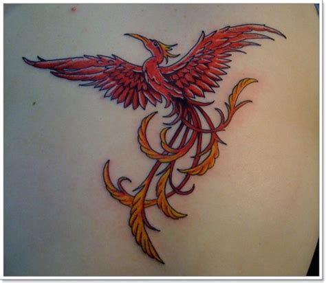phoenix tattoo red phoenix tattoo designs for men phoenix bird tattoo