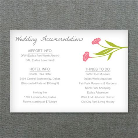 deco flower diy reception card template print