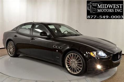 automotive air conditioning repair 2010 maserati quattroporte parental controls purchase used mc sport line carbon interior 22inch whls loaded rare options wow 2013 2011 2010