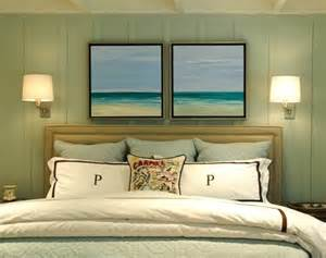 This is the fresh and inviting beach bedroom of a carmel cottage you