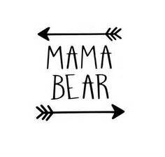 Kitchen Stencil Ideas mama bear decal free custom color mama bear by