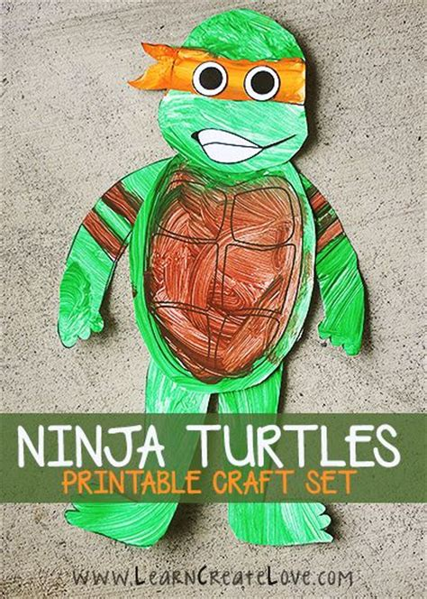 Construction Paper Crafts For Boys - 440 best images about mutant turtles