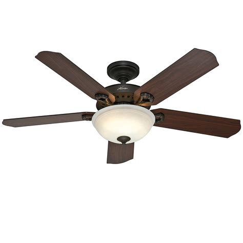 Hunter 52 Quot New Bronze Ceiling Fan With Light Remote Remote Ceiling Fan With Light