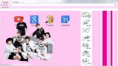 theme google chrome exo call me baby korea chrome themes themebeta