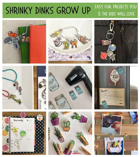 shrinky dinks grow  fun fast  easy   ages