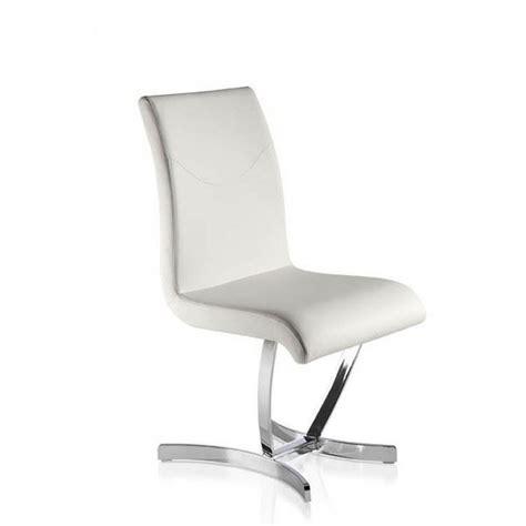 chaises salle à manger design chaise blanche salle a manger le monde de l 233 a