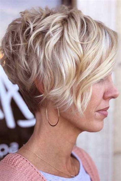 charming stacked short haircuts  women