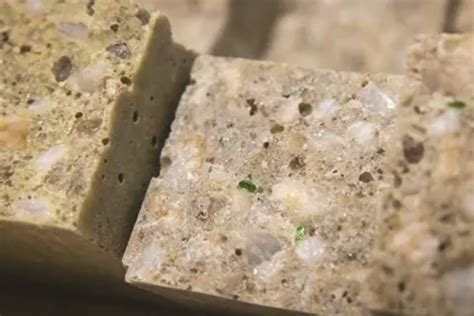 recycled glass  polymer concrete  construction