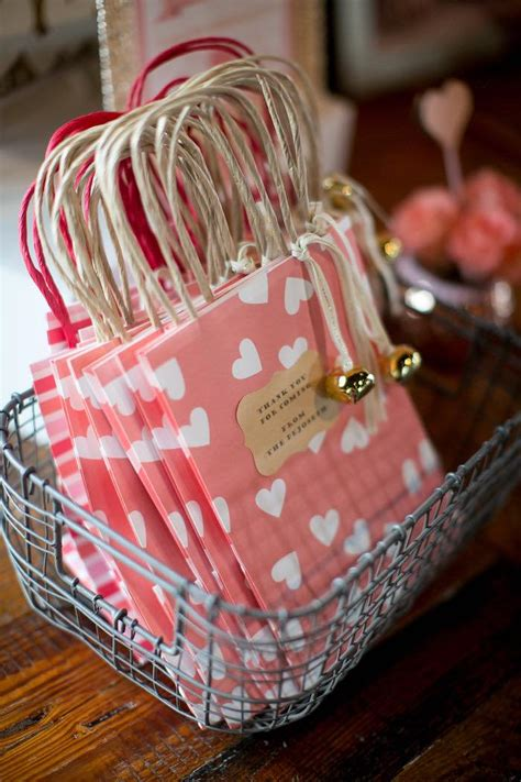 karas party ideas pink coral heart themed valentines birthday party