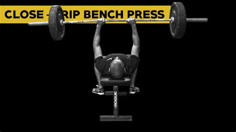 close grip bench chest and back workout 8 exercises 3 different ways