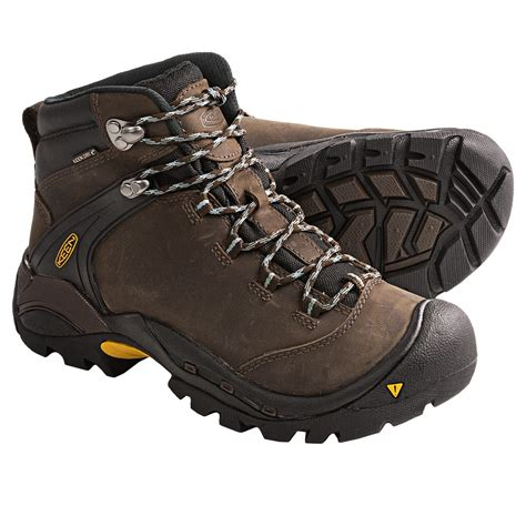 best waterproof boots keen ketchum leather hiking boots waterproof for