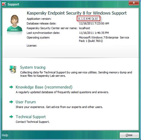 reset password kaspersky endpoint security 8 kaspersky endpoint security 8 for windows version 8 1 0