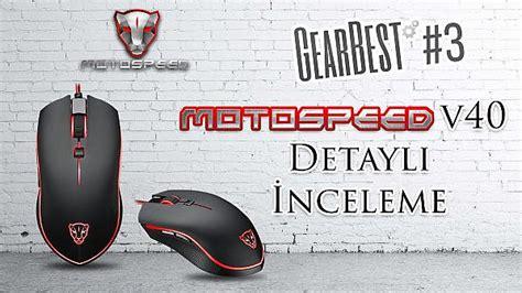 Gaming Mouse V40 Meteor hesaplı oyuncu mouse motospeed v40 detaylı incelemesi