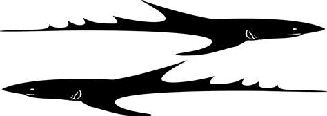 boat graphics shark shark boat decal kit shark vinyl trailer graphics
