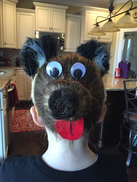 hairstyles for school bad hair day crazy hair day at school red ribbon week pinterest