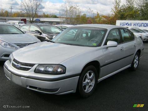 impala silver 2003 galaxy silver metallic chevrolet impala ls 38549610